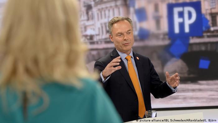 Swedish liberals leader Jan Bjorklund