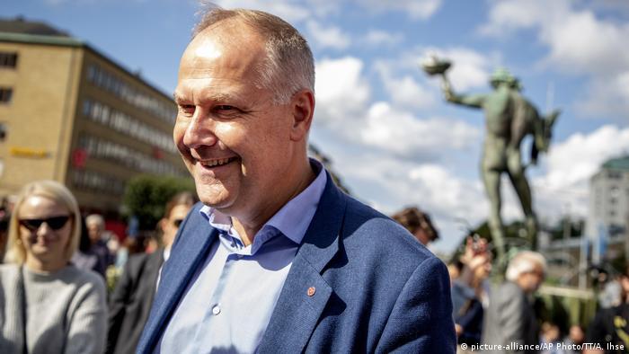 Left Party chairman Jonas Sjostedt
