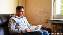 Bangladeshi Flüchtling - Mohammad Ali Bangladeshi refugee Mohammad Ali has been living an uncertain life in Germany.