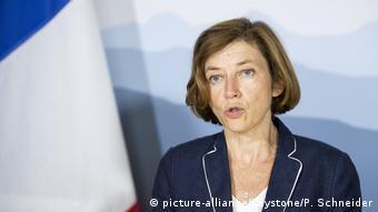 Verteidigungsministerin Frankreich Florence Parly (picture-alliance/Keystone/P. Schneider)