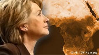 Symbolbild Hillary Clinton - Afrika, Quelle: DW