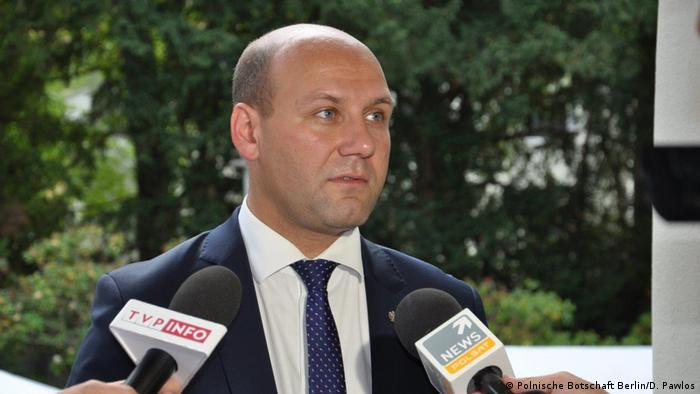 Szymon Szynkowski Staatssekretär im polnischen Außenministerium (Polnische Botschaft Berlin/D. Pawlos)