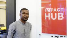 Will Senyo, Co-Founder & CEO Impact Hub, Accra | DW/J. Endert