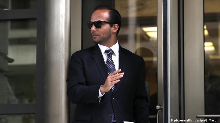 USA Haftstrafe für Trumps Ex-Wahlkampfberater George Papadopoulos
