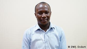 Kent Mensah, Journalist in Accra, Ghana