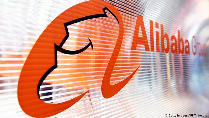 Frankreich Paris Alibaba Logo