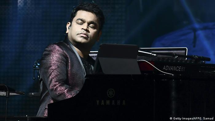 Komponist und Sänger A.R. Rahman (Getty Images/AFP/J. Samad)