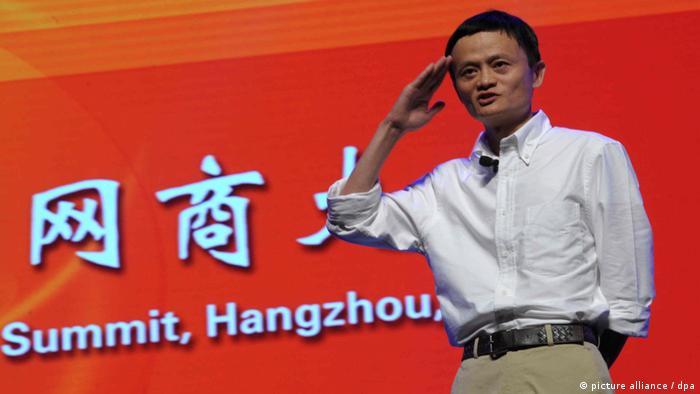 Jack Ma Yun - Chef von Alibaba (picture alliance / dpa)