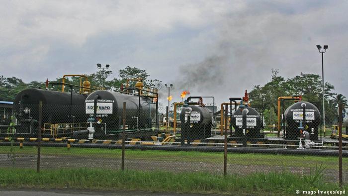 Ecuador Chevron Ölanlage Rio Napo