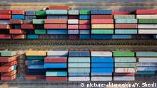 China Containerhafen in Shanghai (picture-alliance/dpa/Y. Shenli)