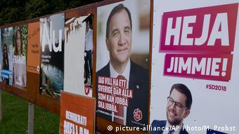 Избирательная кампания в Швеции