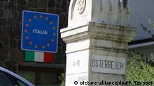 Grenzübergang Italien Österreich
