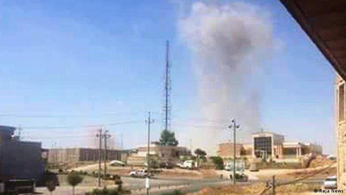 Irak Kurdistan Sanjagh Raketenangriff auf Demokratische Partei des Iran