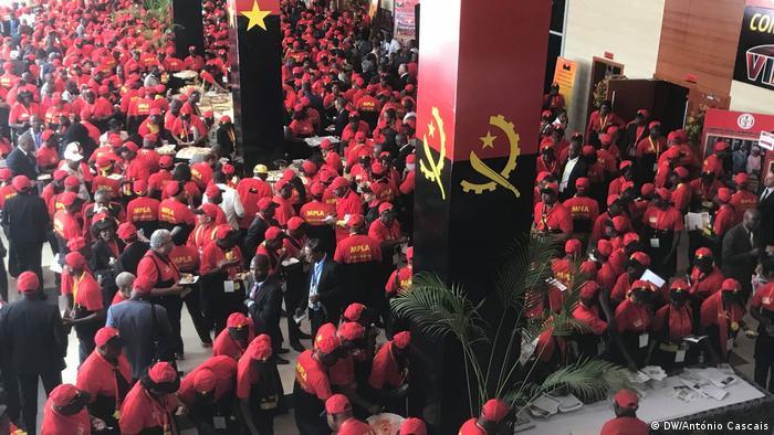 Angola Luanda Parteitag MPLA