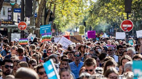 Світом прокотилася хвиля акцій на захист клімату