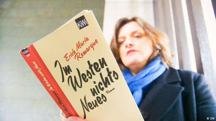 Urednica DW-a Sabine Kieselbach s romanom Na zapadu ništa novo