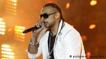 Musiker Sean Paul Musikfest in Paris