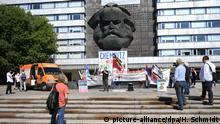 Karl Marx monument in Chemnitz