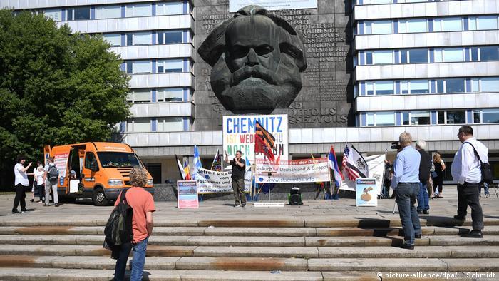 Chemnitz protesters