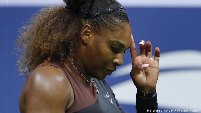 Serena Williams at US Open final