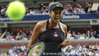 US Open Finale Naomi Osaka Jubel (picture-alliance/AP Photo/A. Kudacki)