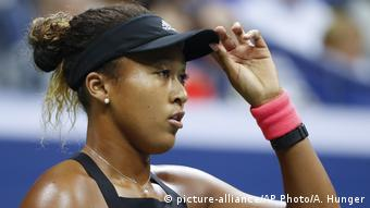 US Open Finale Naomi Osaka (picture-alliance/AP Photo/A. Hunger)