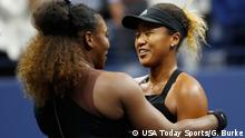 US Open Finale Naomi Osaka Serena Williams Umarmung
