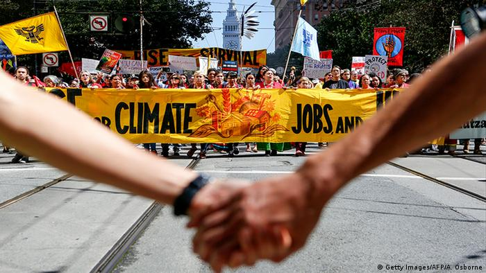 San Francisco Rise for Climate Aktion Klimawandel Protest (Getty Images/AFP/A. Osborne)