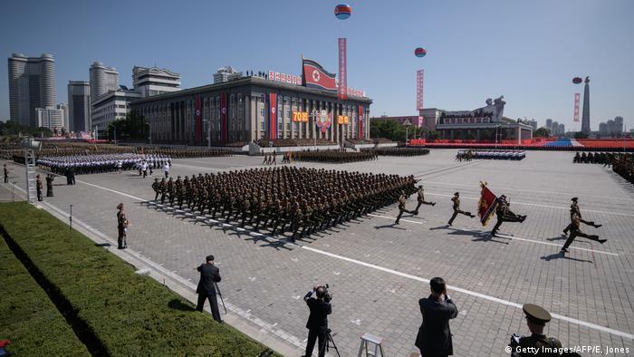 Парад у Пхеньяні