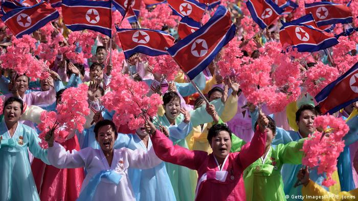 Nordkorea Militärparade zum 70. Jahrestag der Staatsgründung (Getty Images/AFP/E. Jones)
