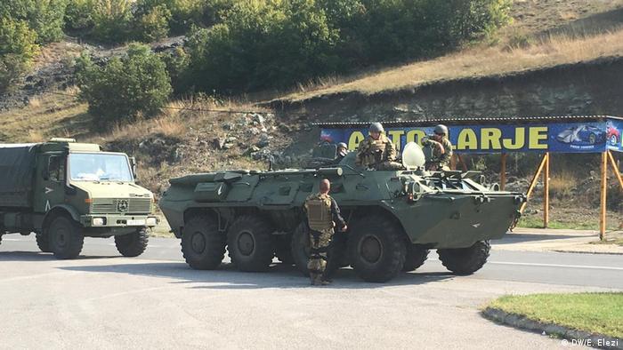 Vucic Besuch Kosovo (DW/E. Elezi)