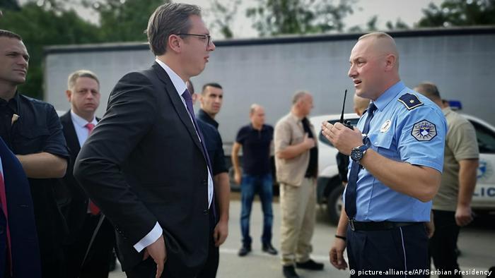 Kosovo Besuch Aleksandar Vucic