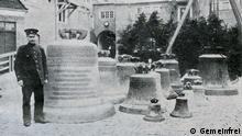 Deutschland Ablieferung von Glocken in Rostock 1917