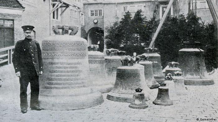 f69078d382f Church bells await their fate in Rostock ahead of shipment to an ironworks