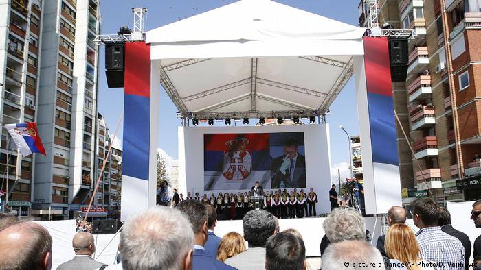 Predsednik Srbije Aleksandar Vučić boravio je na Kosovu u septembru 2018. i održao govor u Severnoj Mitrovici