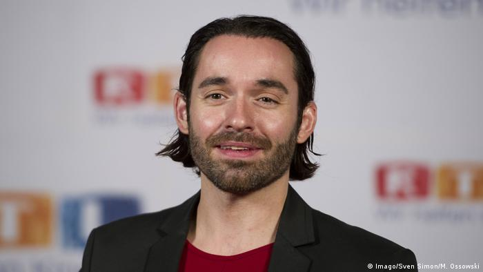 Singer and reality TV star Daniel Küblböck Kueblboeck