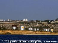 Öl und Gaswerke in Angola