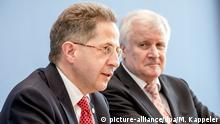 Horst Seehofer and Hans-Georg Maaßen (picture-alliance/dpa/M. Kappeler)