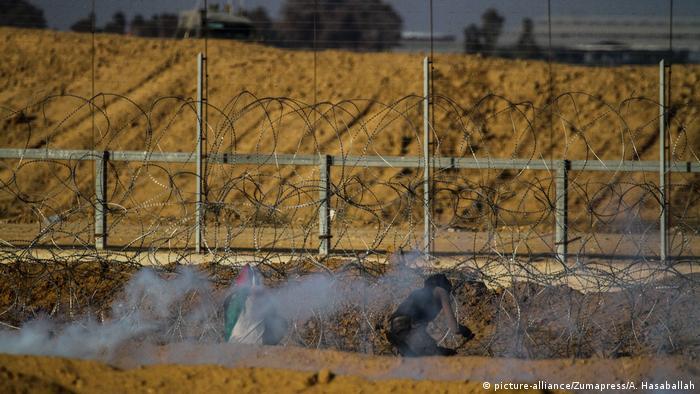 Израиль начал возводить стену на границе с сектором Газа