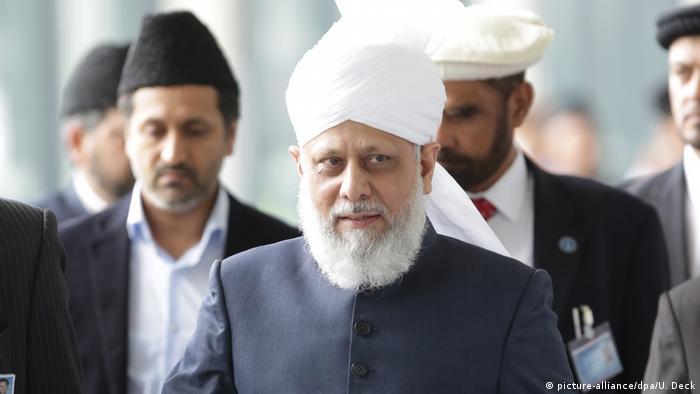 Deutschland Jahrestreffen der Muslimvereinigung Ahmadiyya in Karlsruhe Muslim Jamaat