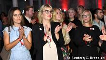 Supporters are seen at the Social Democratic Party's election party in Stockholm, Sweden September 9, 2018. TT News Agency/Claudio Bresciani/via REUTERS ATTENTION EDITORS - THIS IMAGE WAS PROVIDED BY A THIRD PARTY. SWEDEN OUT. NO COMMERCIAL OR EDITORIAL SALES IN SWEDEN.