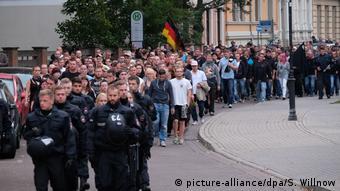В демонстрации в Кётене участвовали около 2,5 тыс. человек