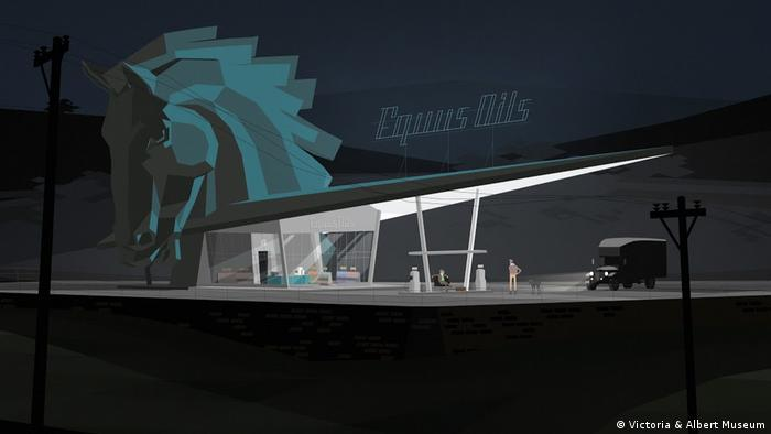 Screenshot of Kentucky Route Zero