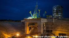 Russland, Uglegorsk: Das Kosmodrom Wostotschny Zentrum