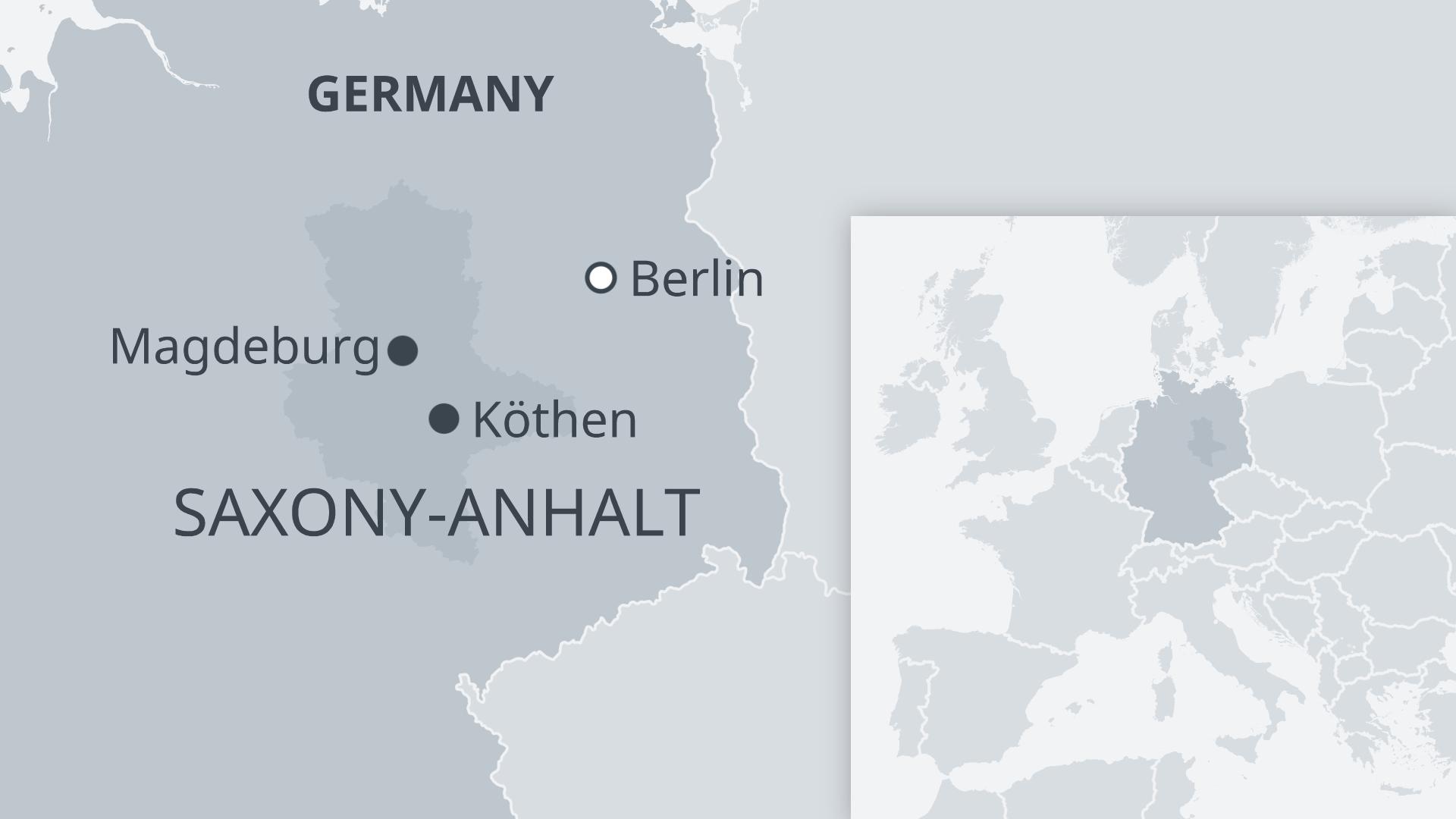 Köthen lies around 160 km southwest of Berlin