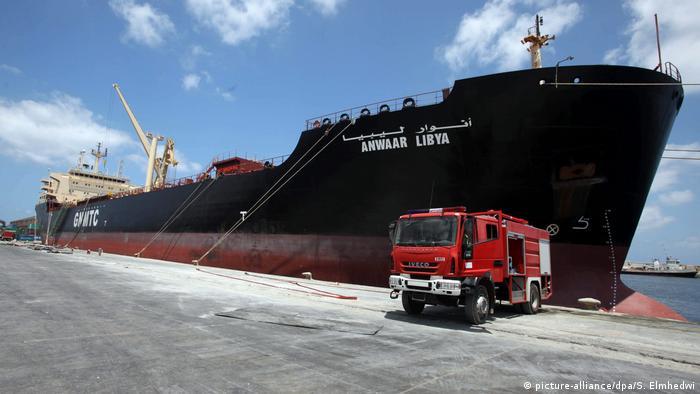 Ливийский нефтяной танкер