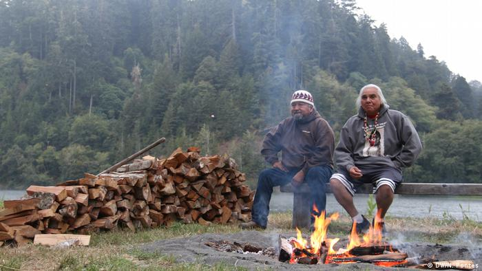 Yurok Indigenous People in Klamath, California