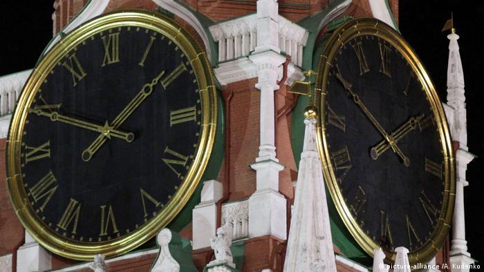 Куранты на Спасской башне, Москва