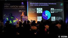 Blockchain Konferenz, Innovation Week (©IRENA) - Innovation Week Leute (©IRENA) Photos can be taken from flickr: https://www.flickr.com/photos/irenaimages/sets/72157701004167035 Zulieferung durch: Sasha Ramirez-Hughes Communications Officer
