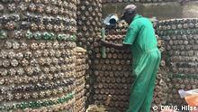 Afrikas größtes Flaschenhaus Aufgenommen: September 2018, Abuja, Nigeria DW, Gwendolin Hilse